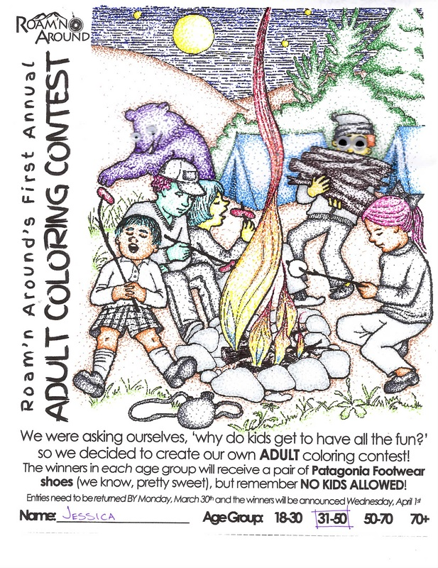 Annual Adult Coloring Contest