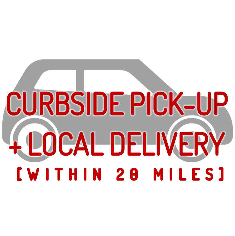 CURBSIDE PICK-UP + LOCAL DELIVERY ICON